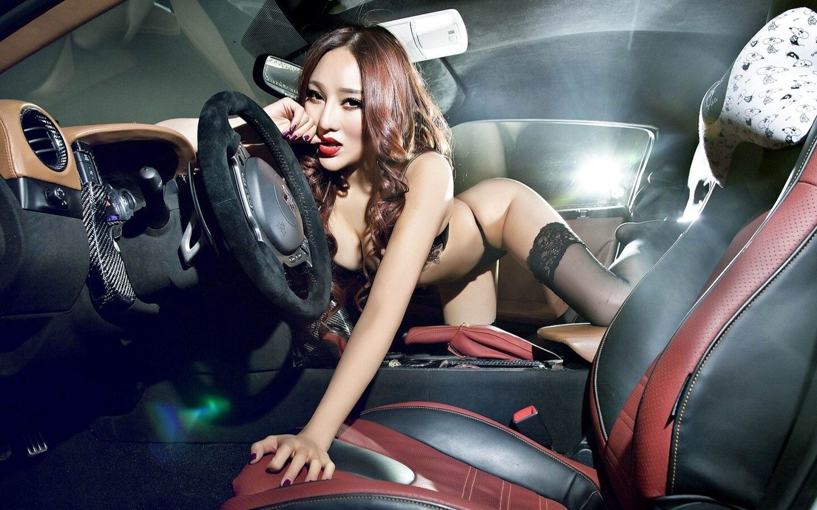 School porn girls sex in the car seamless panty pics
