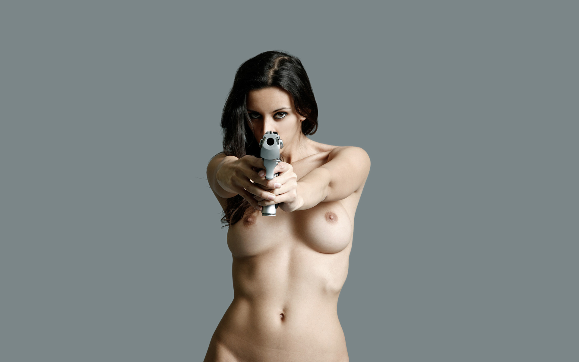 Naked girls with guns pictures fucked photo